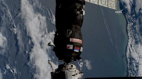 Российский «Прогресс МС-09» добрался до МКС за рекордно короткое время