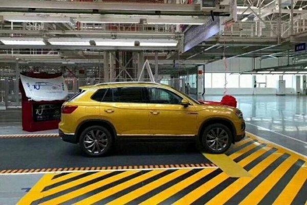 В Китае стартовало производство нового кроссовера Volkswagen Tayron