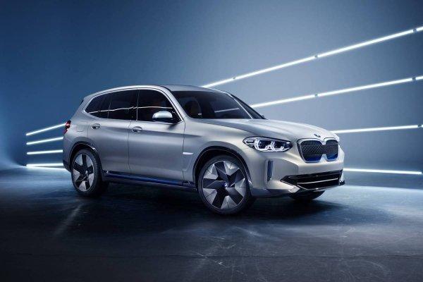 Новый BMW iX3 начнут выпускать в Китае в 2020 году