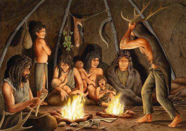 Ученые узнали, чем лечились люди каменного века