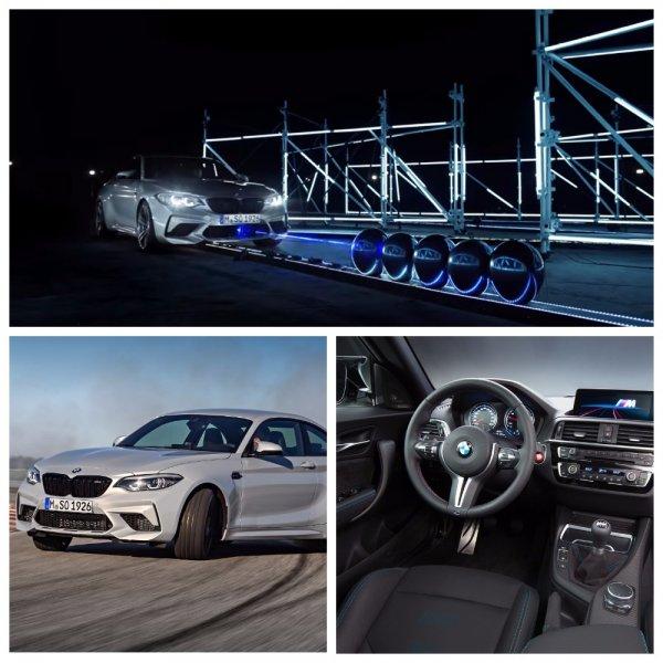 В сеть попало видео с новым лазерным рекордом спортивного BMW M2 Competition