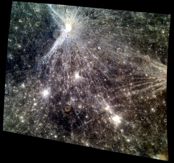 Ученые: Кратерные лучи поведают о рождении Солнечной системы