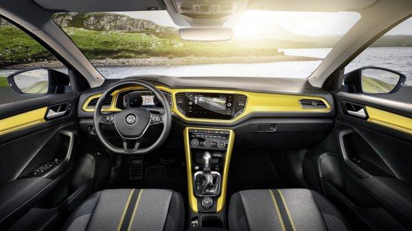 Кроссовер Volkswagen T-Roc получил новый базовый дизельный мотор