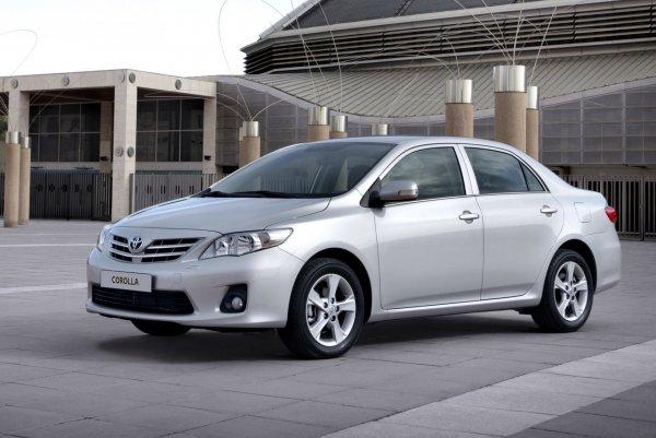 Toyota Corolla возглавила ТОП-5 лучших автомобилей 2018 года в России