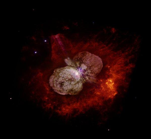 Раскрыта тайна «бессмертной» звезды Эта Киля
