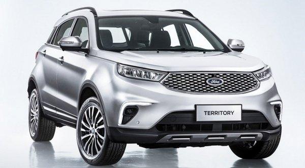 Ford рассекретил совершенно новый бюджетный кроссовер Ford Territory