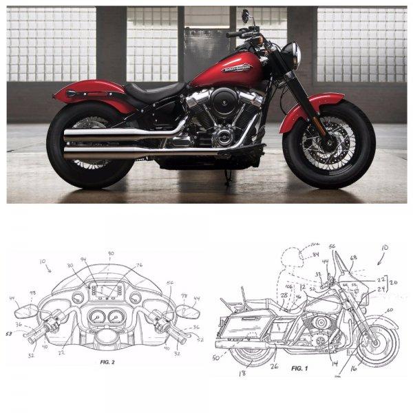 Компания Harley-Davidson изобрела систему автоматического торможения мотоциклов