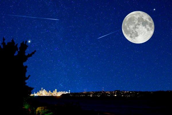 Астроном-любитель в Турции снял на Луне черный объект дискообразной формы