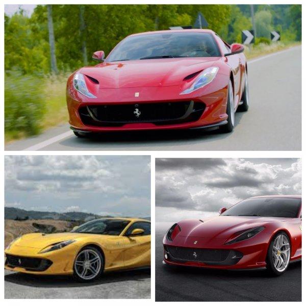 Ferrari представит новый суперкар 17 сентября