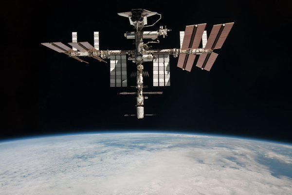На японском модуле МКС произошла течь