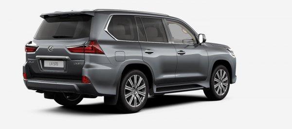 Линейка Lexus LX в России подорожала на 13-76 тысяч рублей