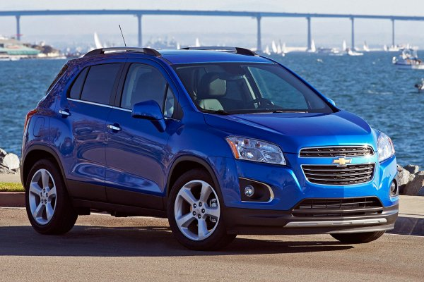 Кроссовер Chevrolet Tracker может появиться на рынке России под маркой Ravon