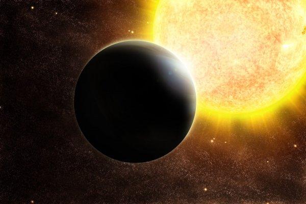 На экзопланете обнаружили железное небо