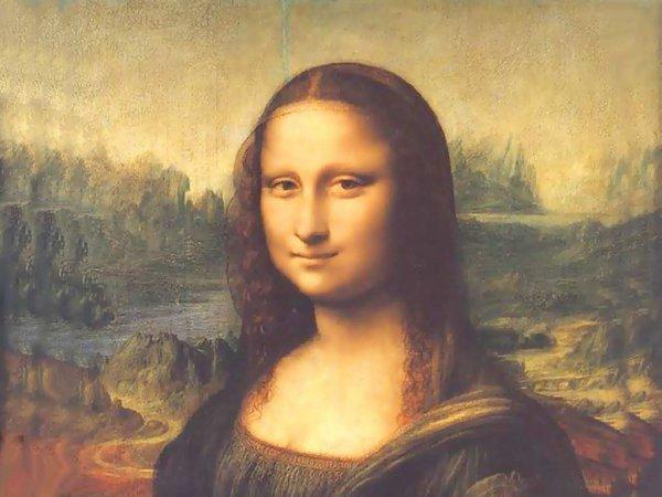 Ученые создали микроскопическую версию «Мона Лизы» при помощи миллионов бактерий