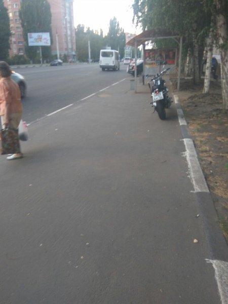 В Воронеже заметили мотоцикл самого опасного байкера