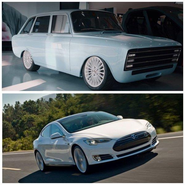 Наш ответ Илону Маску: «Калашников» показал «убийцу» Tesla на базе ИЖ «Комби»