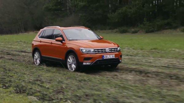 В России появится «внедорожная» версия кроссовера Volkswagen Tiguan Offroad