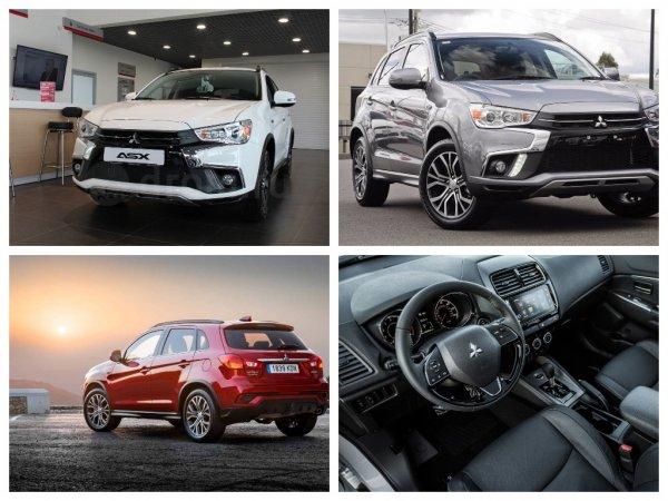 Обновленный кроссовер Mitsubishi ASX для РФ оценили в 1 159 000 рублей
