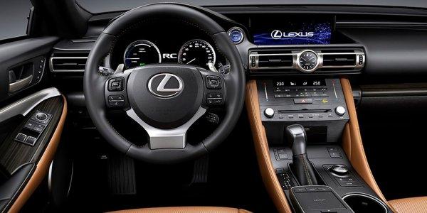 Обновленный Lexus RC приблизился к флагману LC