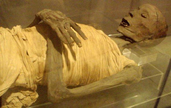 Учёные нашли на древней египетской мумии скрытые письмена