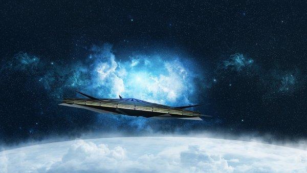 Житель Пензы снял на камеру в небе над городом НЛО