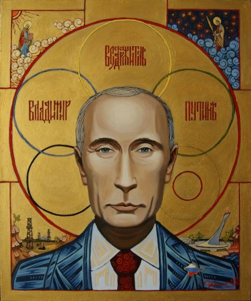 Художник картины-иконы Владимира Путина «Владимир Вседержитель» поведал все тайны произведения