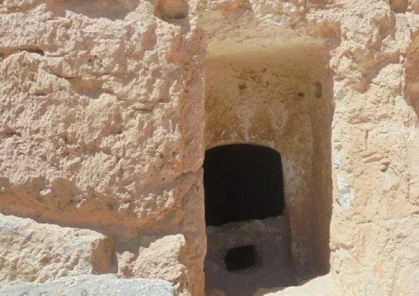 В Сирии нашли таинственную «двухэтажную» пещеру с древними наскальными рисунками
