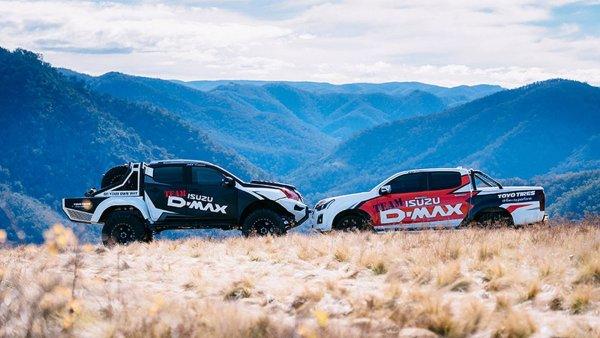 Isuzu в Мельбурне представила экстремальные пикапы и внедорожник Concept X