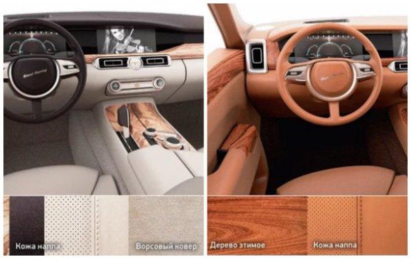 От черного до Tiffany: Покупатель Aurus сможет выбрать любой цвет автомобиля
