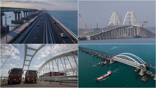 Автомобилисты стали реже нарушать ПДД на Крымском мосту
