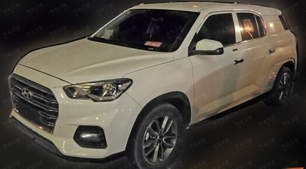 В Китае тестируется семиместный кроссовер в «теле» Hyundai ix35