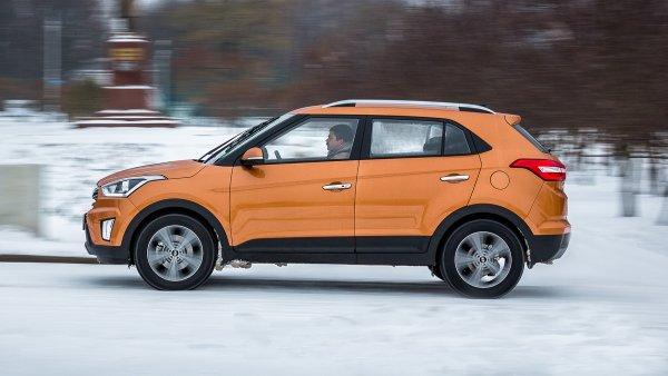 Hyundai Creta в августе снова стал бестселлером марки на рынке России