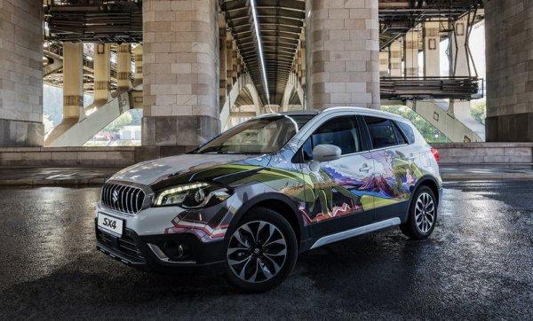 В России начались продажи особой версии кроссовера Suzuki SX4