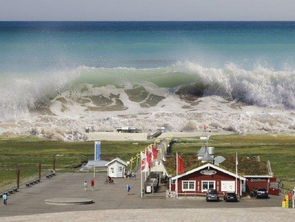 Ученые прогнозируют губительные мегацунами из-за глобального потепления