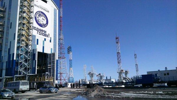 Под стартовым комплексом космодрома «Восточный» обнаружены пустоты