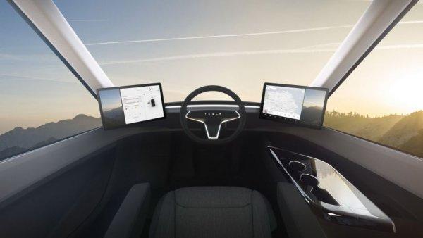 Новую электрическую фуру Tesla Semi заметили на тестах в США