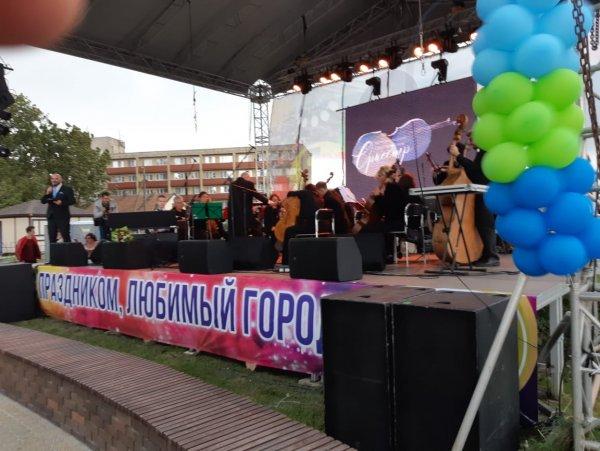 В рамках Дня города Зеленоградска был проведен необычный концерт