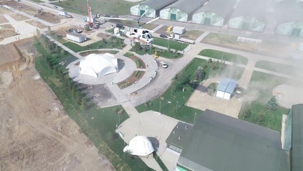 До конца года в парке «Патриот» будет открыт музей военных строителей