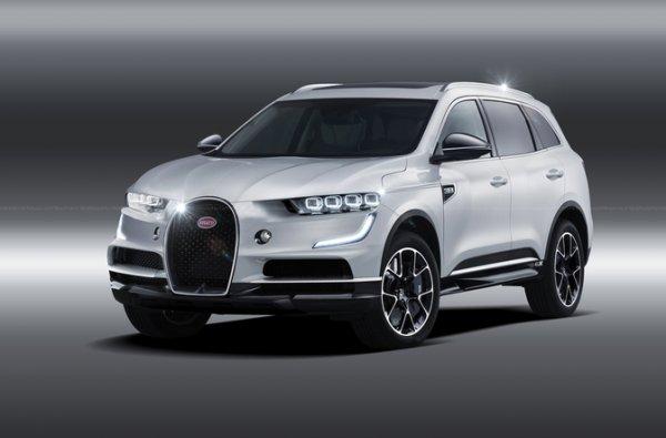Bugatti выпустит супер-внедорожник