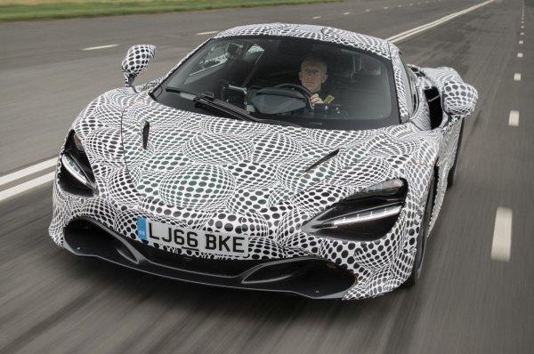 McLaren скоро представит свой самый скоростной гиперкар