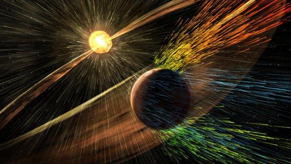 Одна из крупнейших магнитных бурь года прошла на Земле