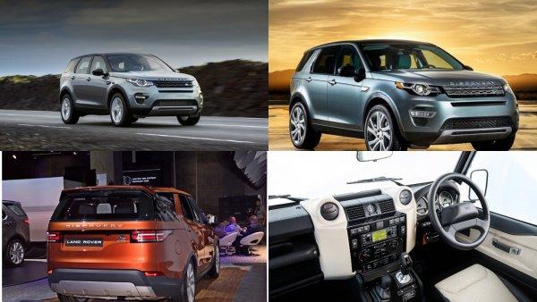 Юбилейные внедорожники Land Rover Discovery и Discovery Sport добрались до России