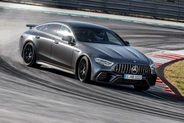 Mercedes-AMG приступил к производству мощнейшего GT 4-Door Coupe