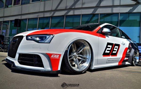 Тюнеры из SR66 Design превратили Audi S5 Coupe в спорткар