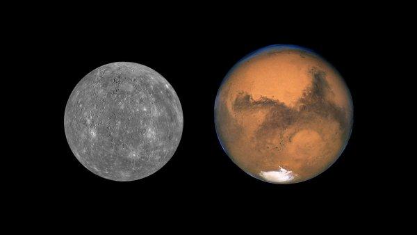 Астрономы: Марс и Венера были двойной планетой