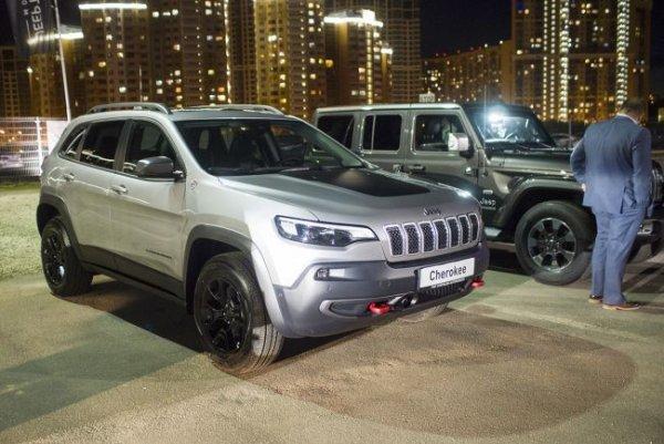 В России состоялась официальная презентация Jeep Compass, Wrangler и Cherokee