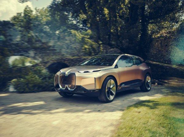 BMW официально представил электрический Vision iNEXT