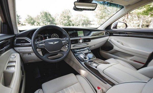 В сети показали первый рендер нового седана Genesis G90 2019