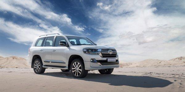 Toyota запускает продажи самой дорогой версии Land Cruiser в России