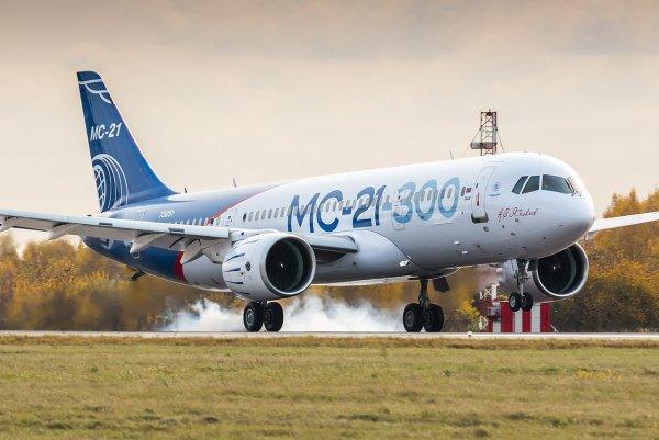 Эксперты EASA выполнили полеты на самолете МС-21-300 из Иркутска